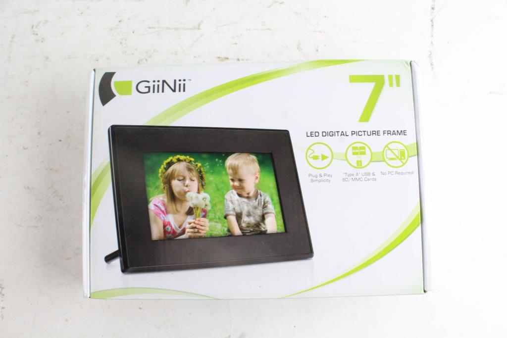 Giinii 7 Led Digital Picture Frame Property Room