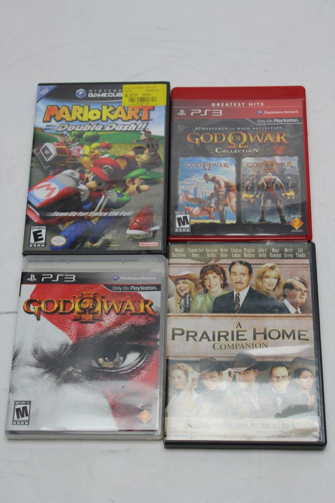 God Of War Mario Kart Genesis Playstation 3 Nintendo