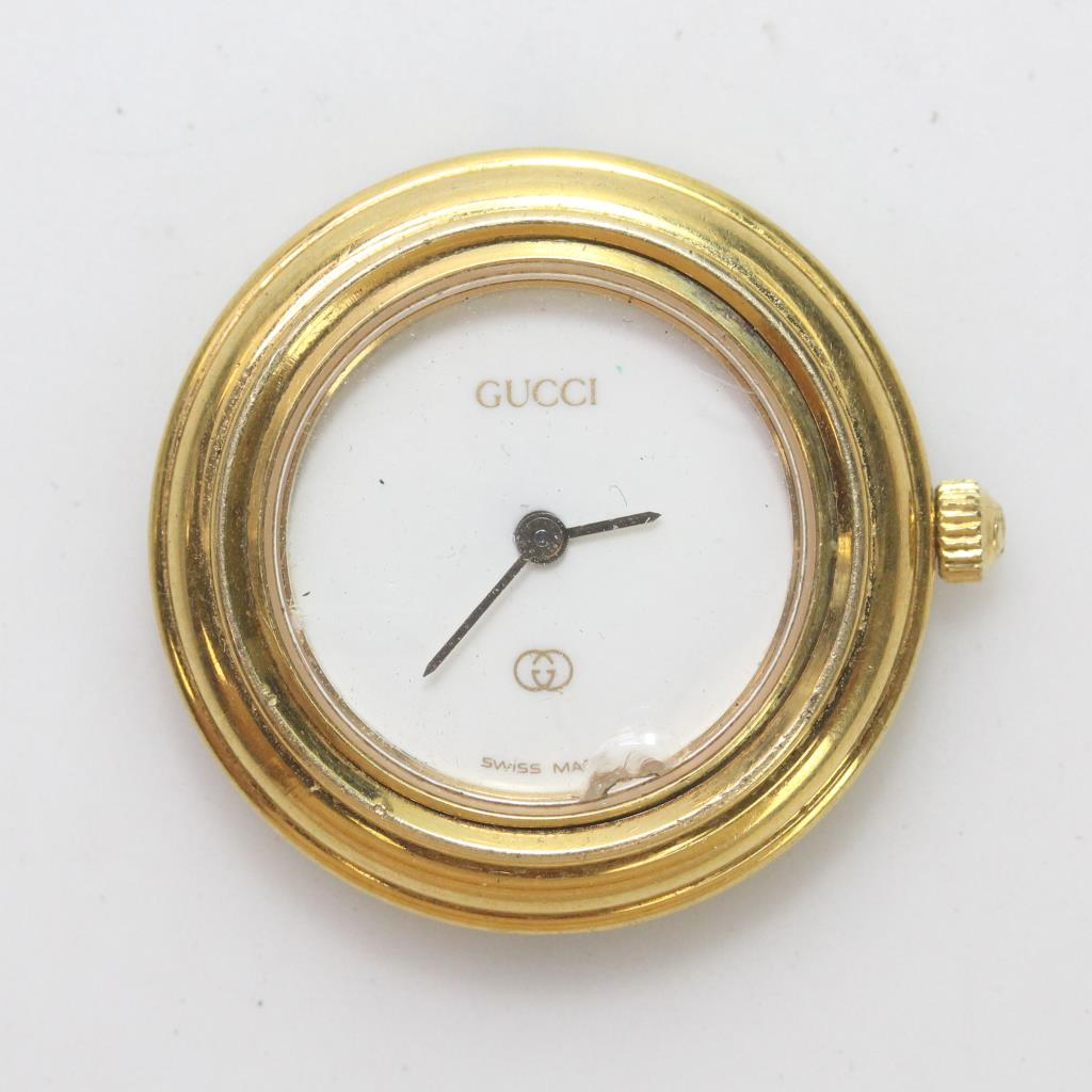 Gold Plated Gucci Watch Face