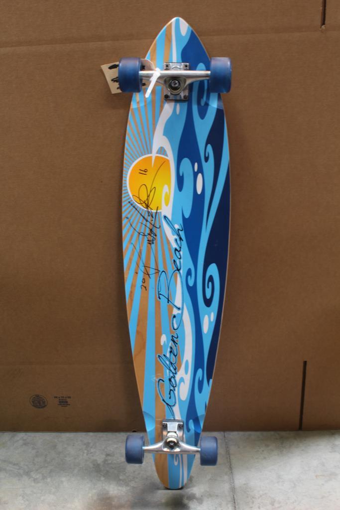 Golden Beach Skateboard Property Room Longboard