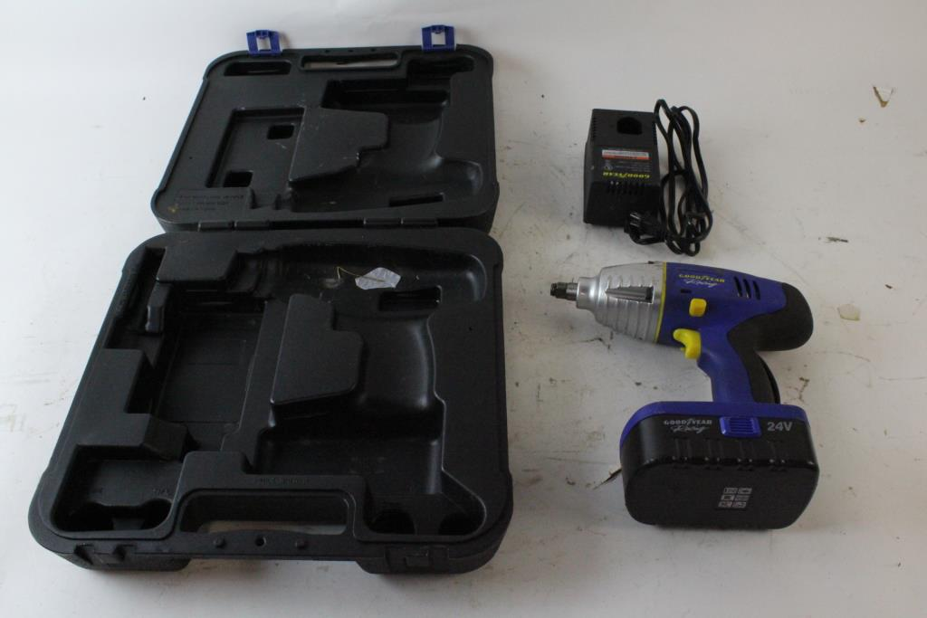 Image 1 Of 4 Goodyear Racing Cordless Impact Wrench