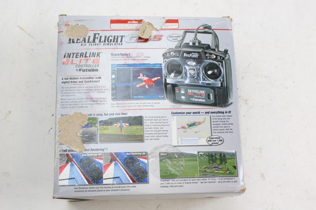 Great Planes Realflight G5 5 Flight Simulator Mode 2 Game
