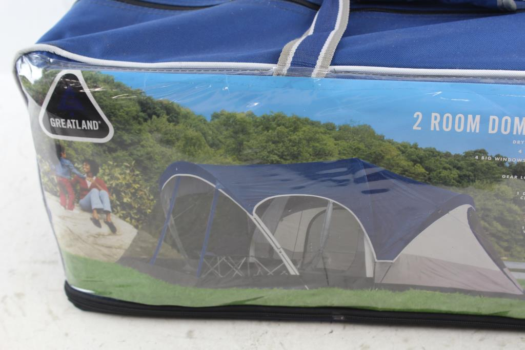 Greatland 2 Room Dome Tent With Screen Porch (up To 8 People