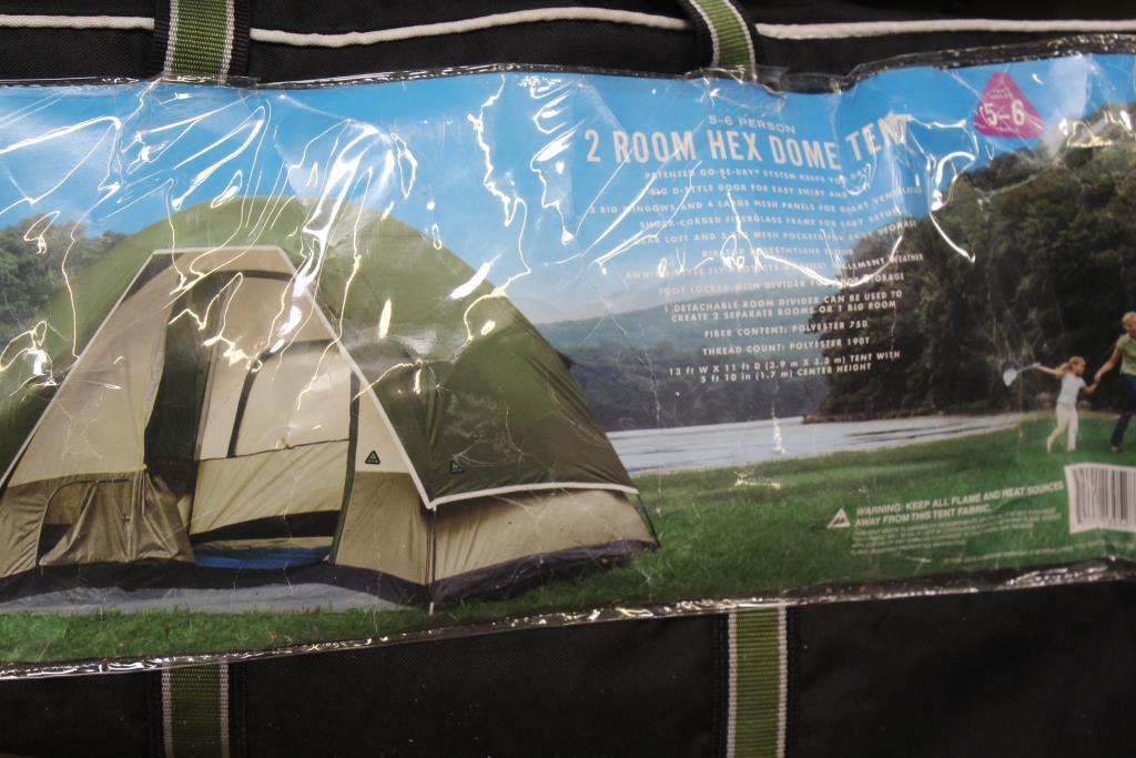 Greatland Outdoor 2 Room 6 Person Tent | Property Room