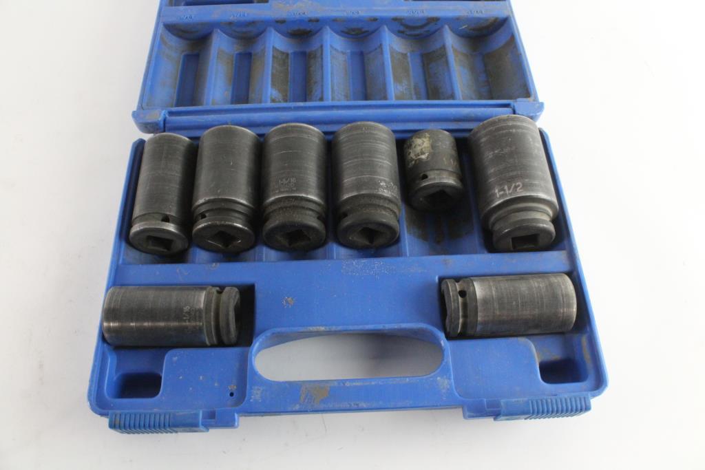 Grey Pneumatic 8034D Impact Socket Set