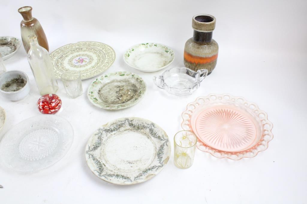 Grindley China Plates Frankoma Pottery Vase And More 15pieces