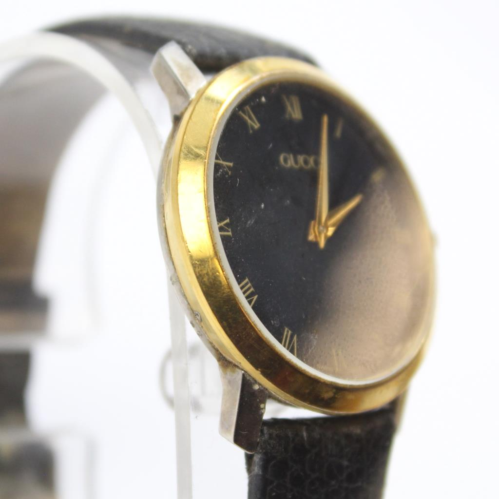 Gucci 2200m Gold Plated Watch Property Room
