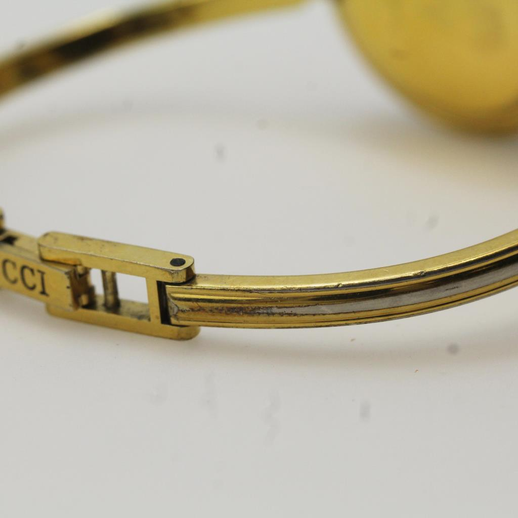 cf993ae79dc Gucci Gold Plated Bangle Women s Watch