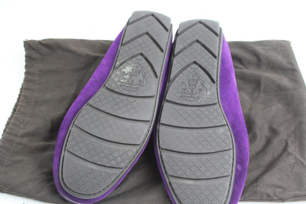 07496001233467 ... Gucci Men s Moccasin 282732 Suede Loafers Property Room check out 9db63  fe3f2 . ...