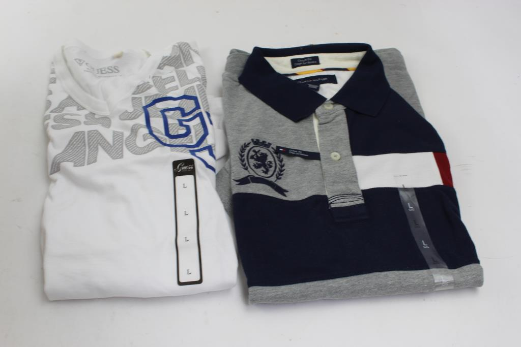 Guess, Tommy Hilfiger Shirts, Size L, 2 Pieces | Property Room