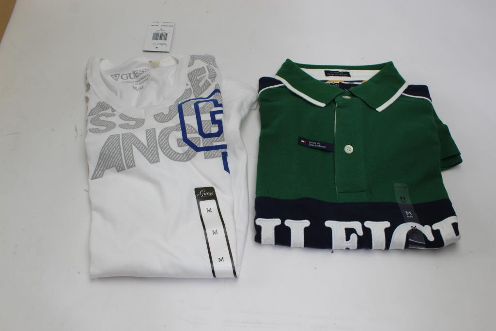 Guess, Tommy Hilfiger Shirts, Size M, 2 Pieces | Property Room