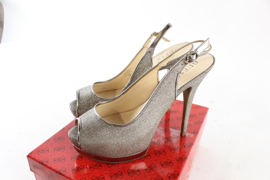 Guess Womens Glenisa High Heel Shoes