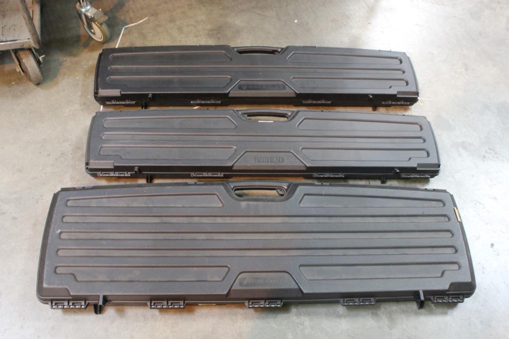 Gun Guard And RedHead Rifle Cases, 3 Pieces