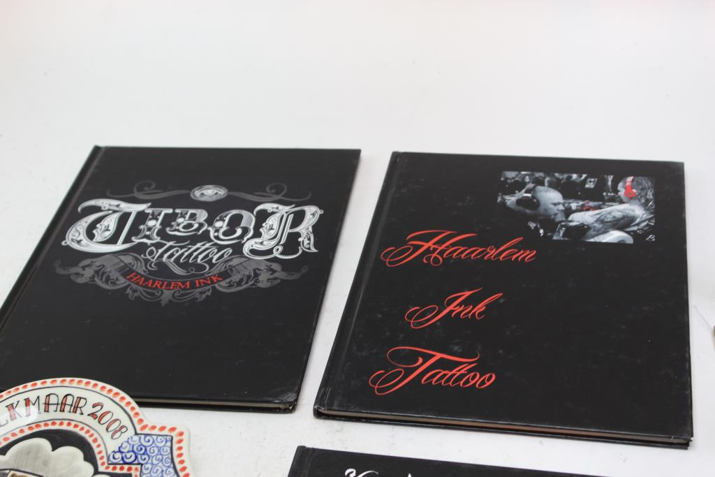 Haarlem Ink Tattoo Boos Alkmaar 2008 Hanging Dish Counter