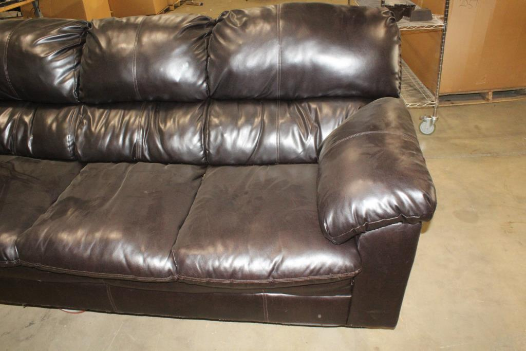Harbortown Vintage Leather Sofa