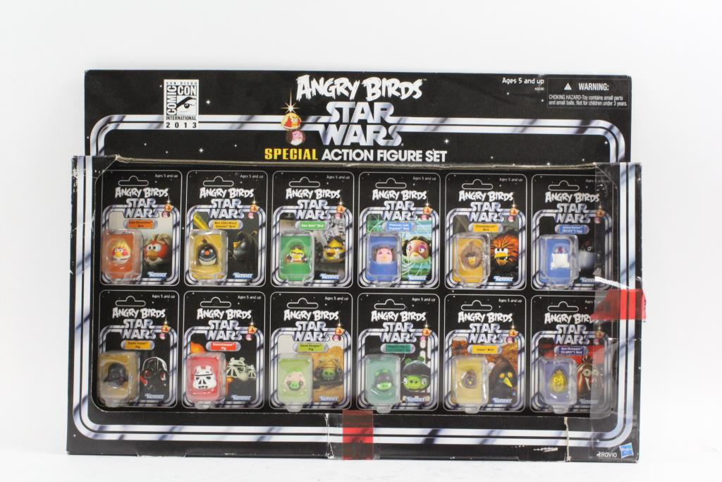 Angry Birds Star Wars Toys : Angry birds star wars toys youtube