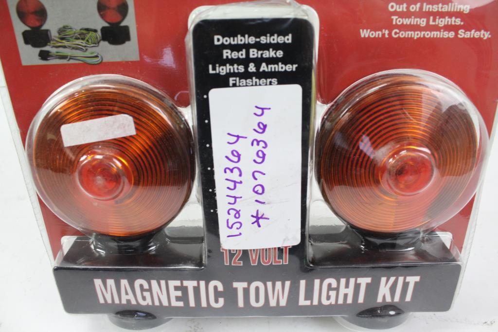 Haul Master 12 Volt Magnetic Tow Light Kit 4332983821