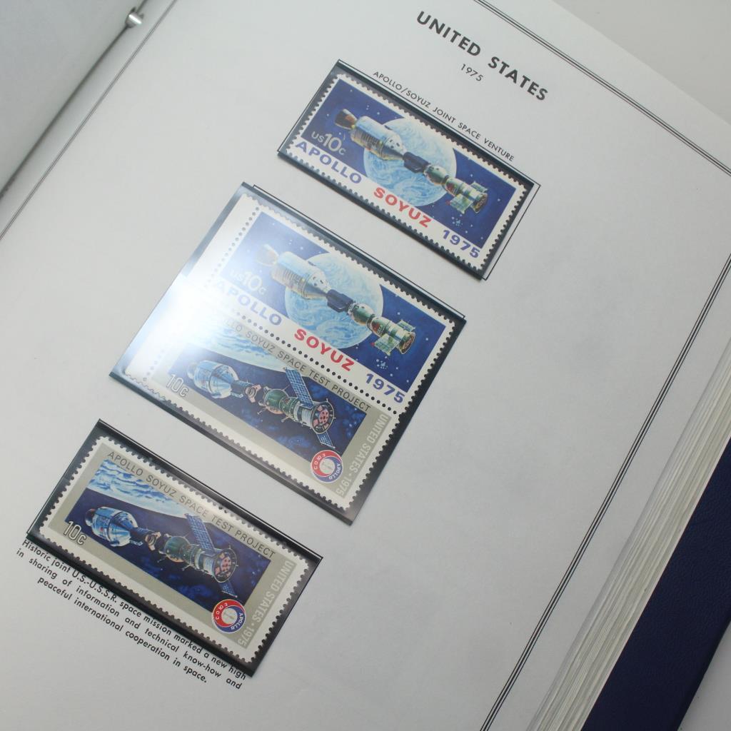 H E Harris U S  Liberty Stamp Album | Property Room