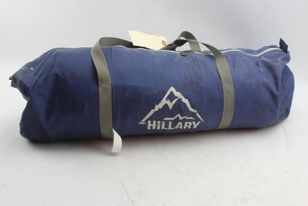 hillary tent property room