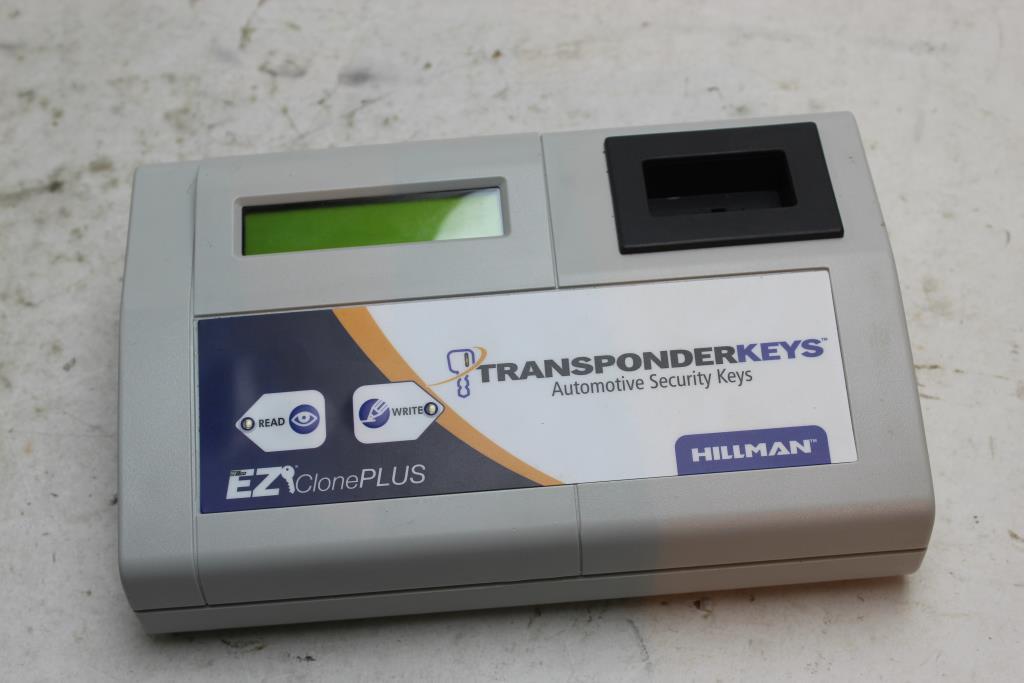 Hillman Transponder Key Duplicator Property Room