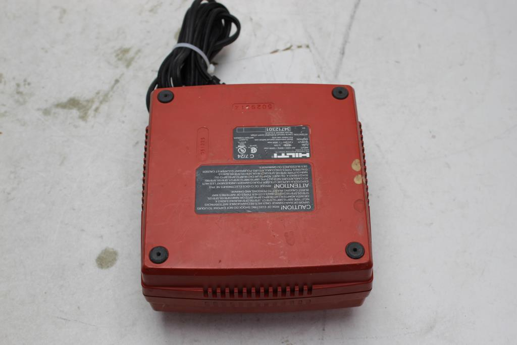 Hilti Battery Charger C7 24 Property Room