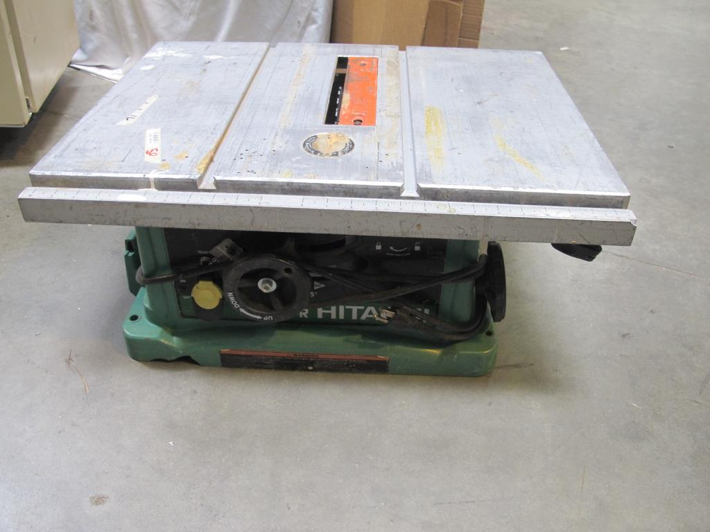 Hitachi C10fr Circular Saw Property Room
