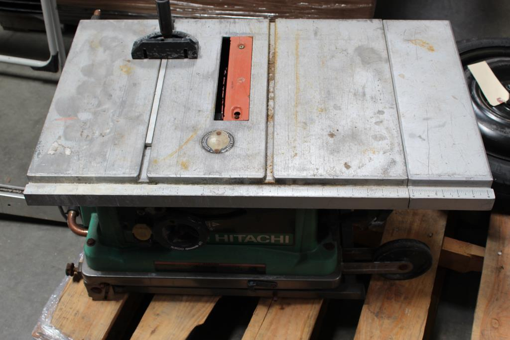 Hitachi Table Saw Property Room