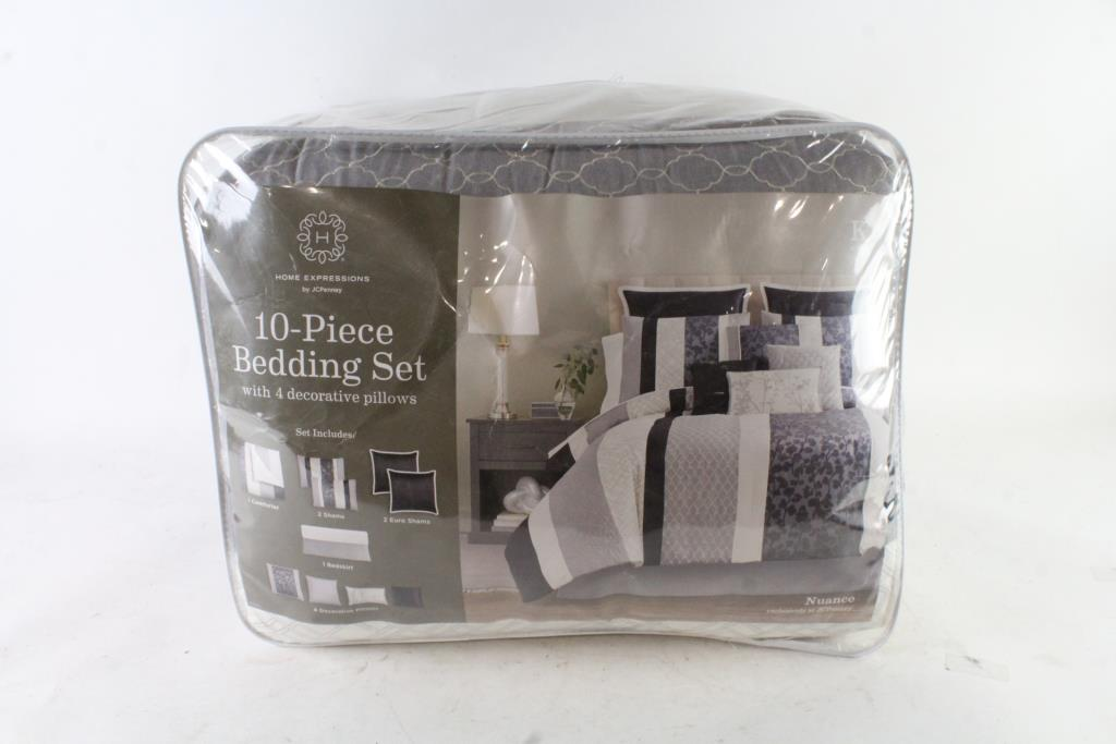 Home Expressions By JCPenny 400Piece Bedding Set With 40 Decorative Cool Cheap Decorative Pillows Under 10