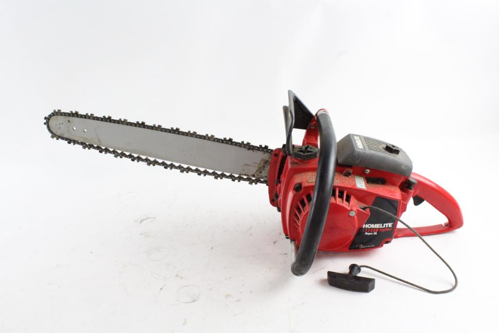 Homelite Big Red Super XL Chainsaw   Property Room