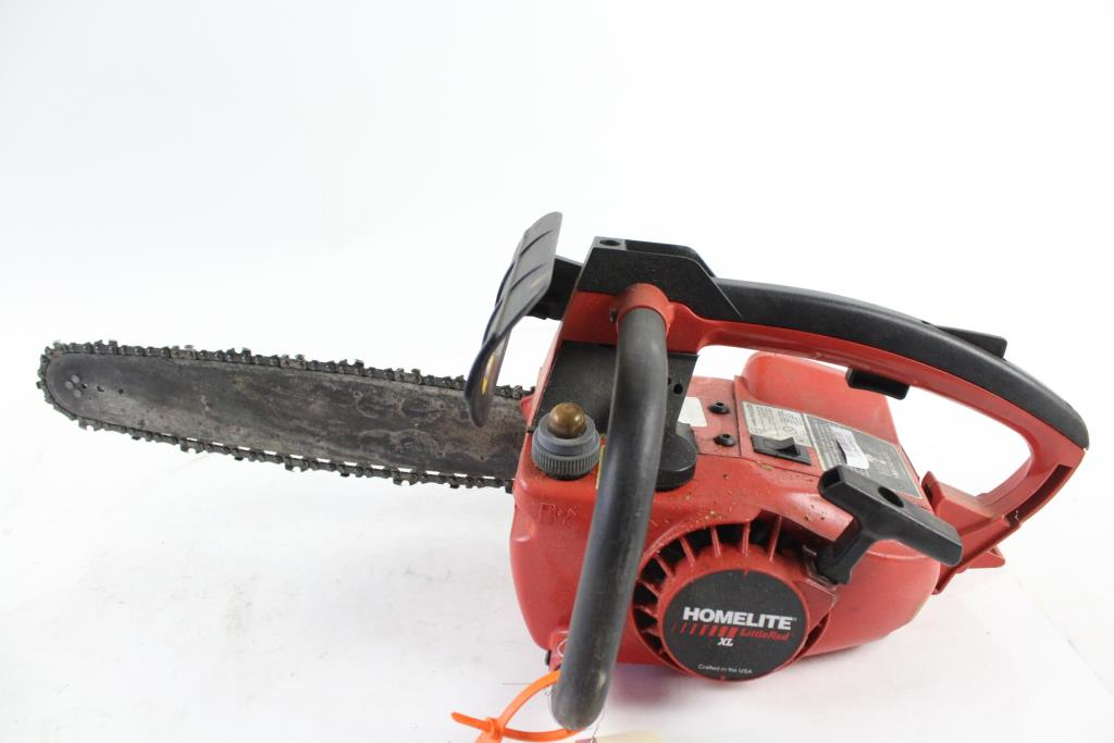 Homelite Little Red Xl Chainsaw Property Room