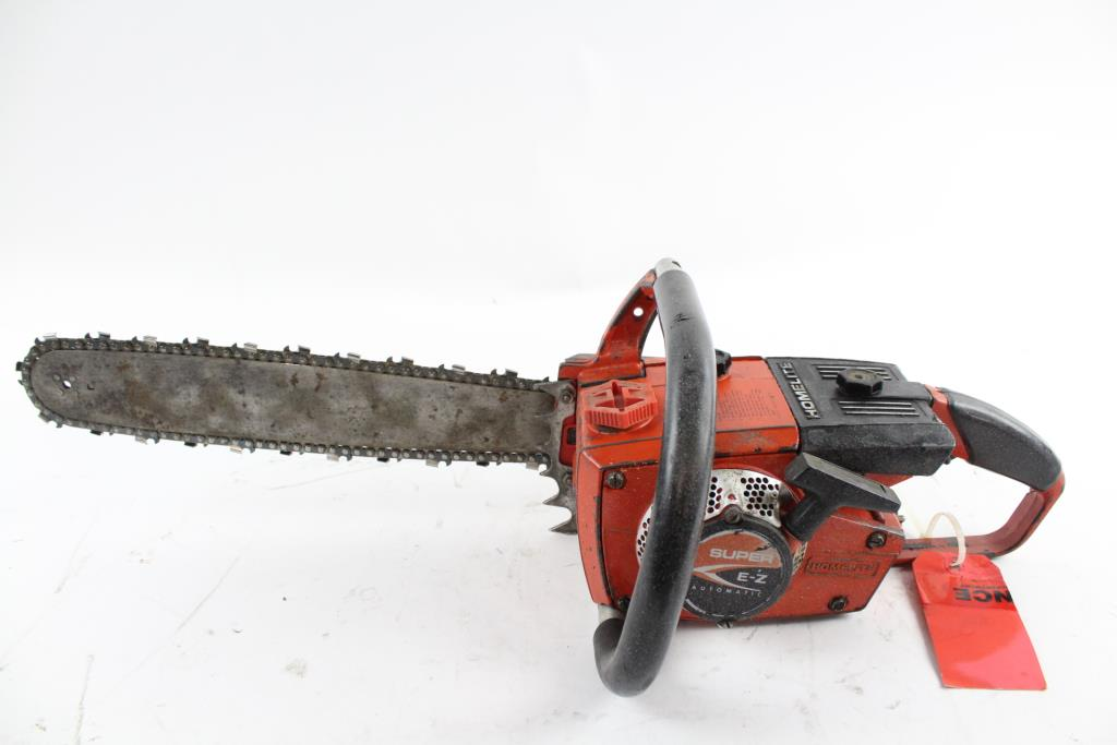 Homelite Textron Chainsaw   Property Room