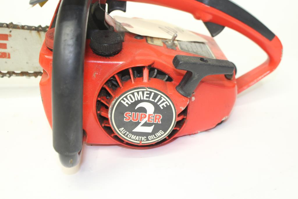 Homelite Textron Power Tip Bar Chainsaw   Property Room