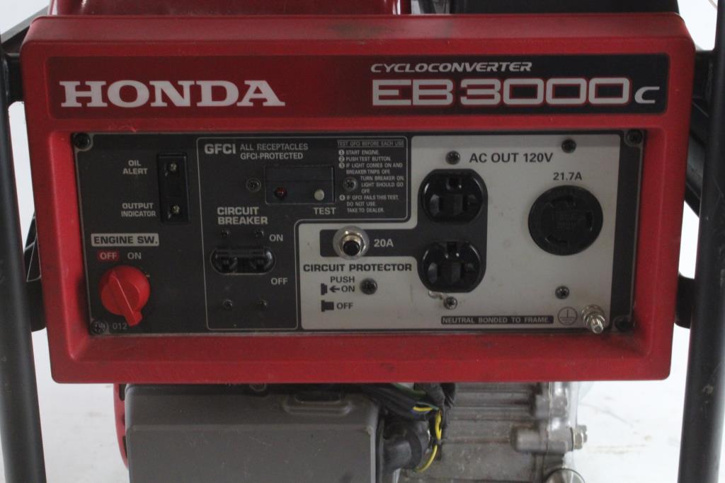 Wonderful Honda 3000 Watt Generator