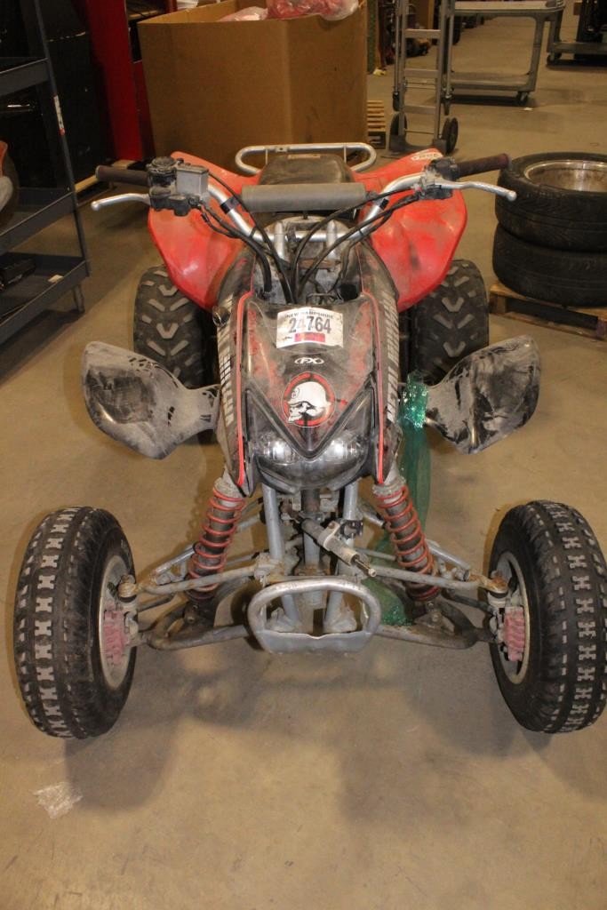 Honda ATV, VIN Unknown, Sold For Parts | Property Room
