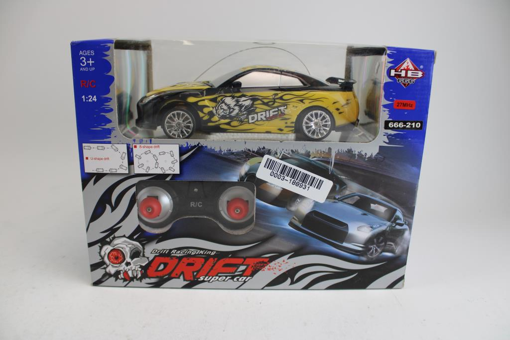 Huang Bo Toys Drift Racing King Drift Super Car Property Room