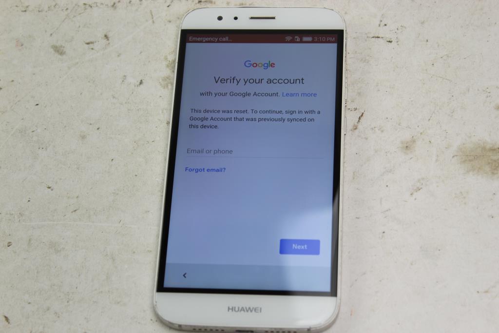 Huawei GX8, 32GB, Claro Wireless, Google Account Locked