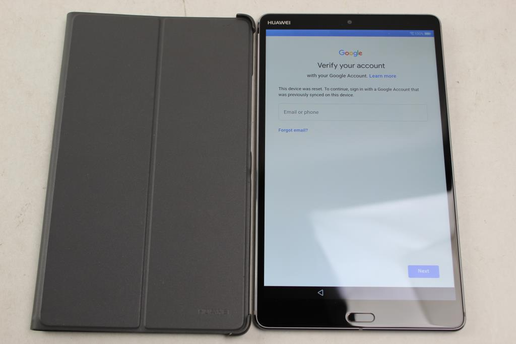 Huawei MediaPad M5, 32GB, Wi-Fi Only, Google Locked, Sold