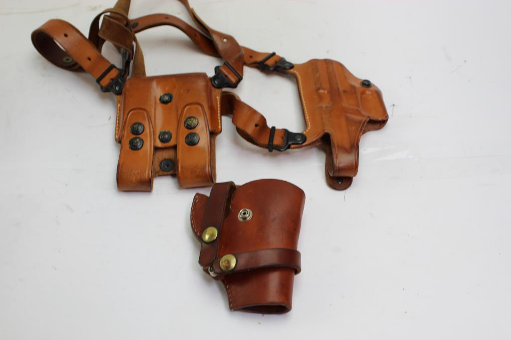 Hunter, Galco Holsters 2 Pieces   Property Room