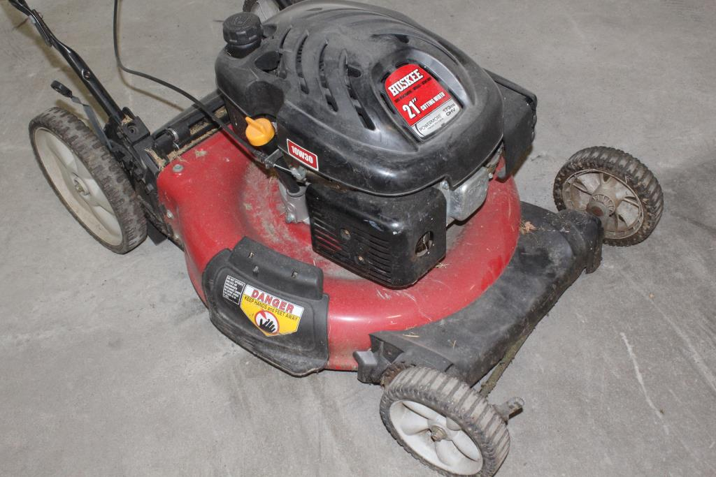 Huskee Lawn Mower Property Room