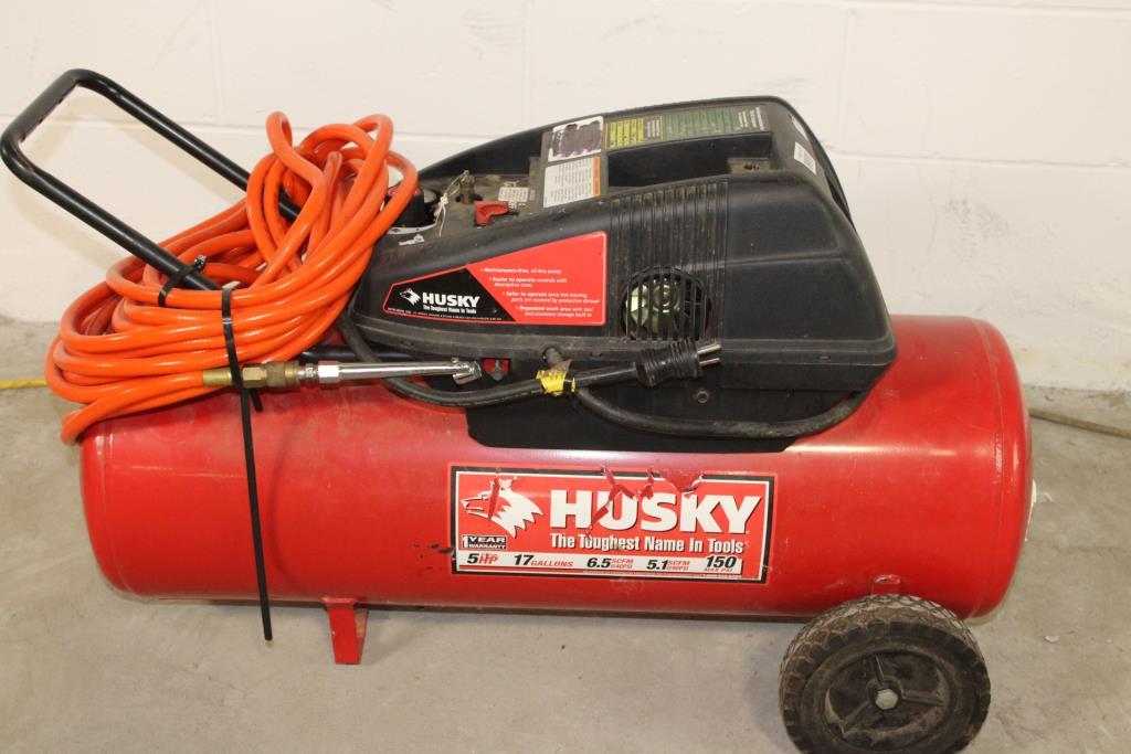Husky 17 Gallon Air Compressor | Property Room