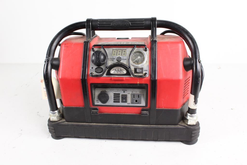 husky hsk037 battery charger property room rh propertyroom com Husky Jump Starter HSK037 Husky Jump Starter