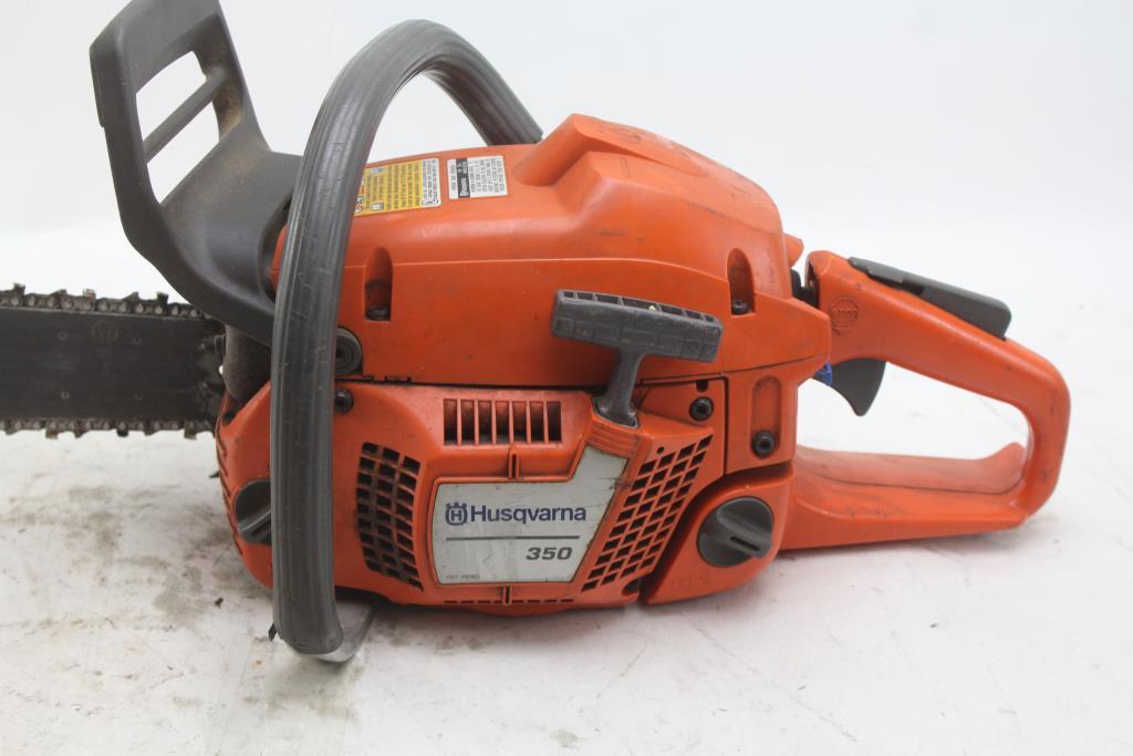 Husqvarna 350 Chainsaw | Property Room
