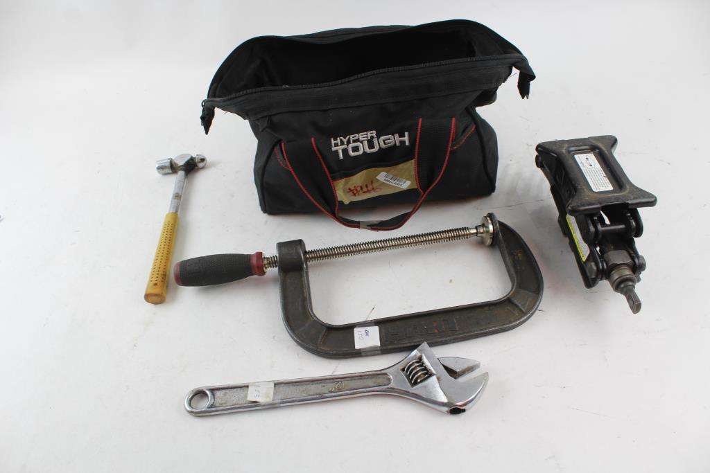 Hyper Tough Tool Bag Filled With Tools | Property Room