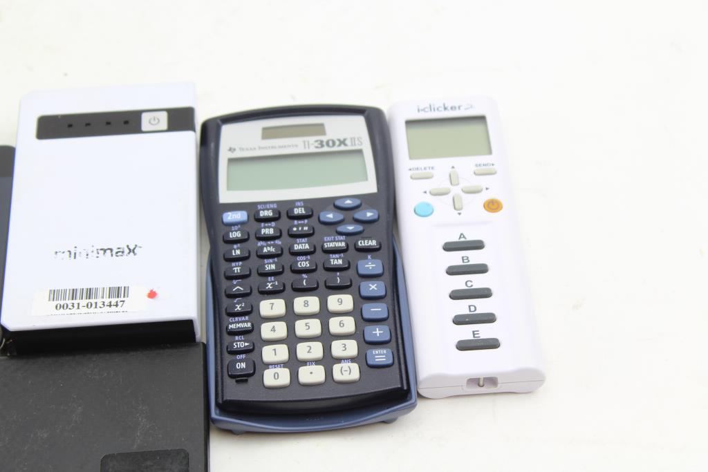 IClicker 2 Remote, Texas Instruments TI-30X IIS Calculator