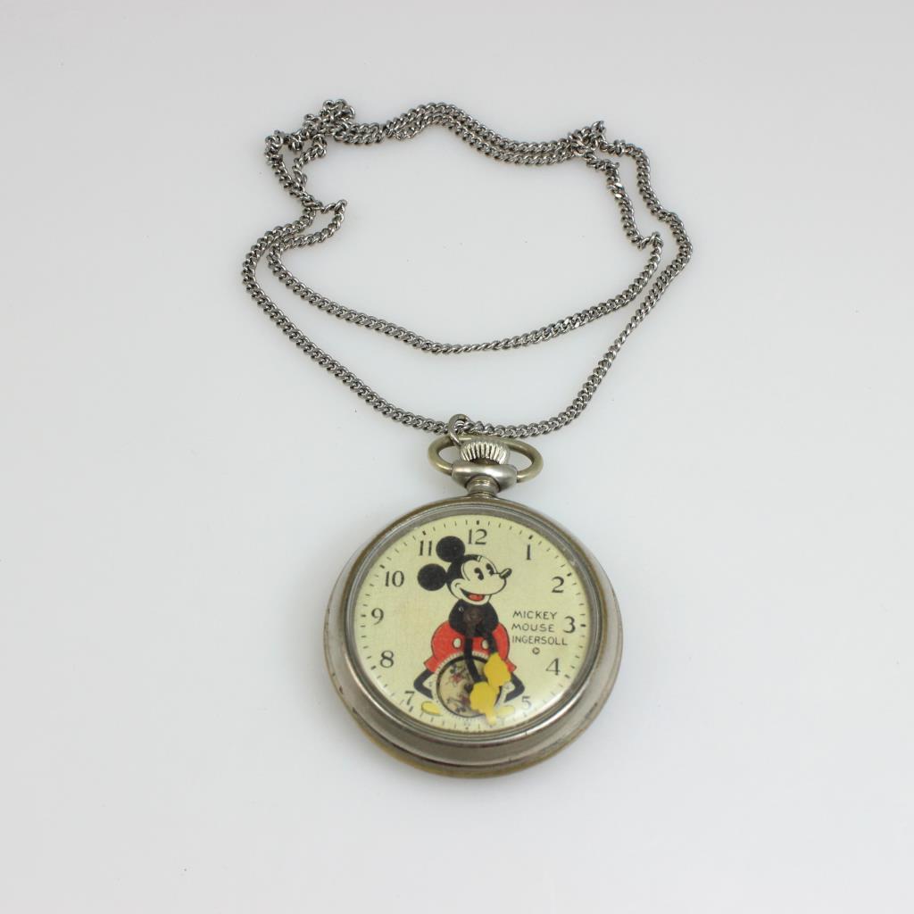 Ingersoll Diamond Pocket Watch