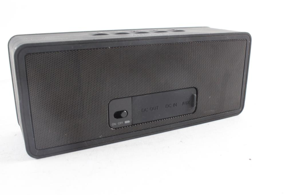 Insignia Bluetooth Speaker With Powerbank  Property Room