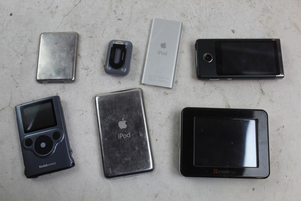 Intellinav Gps, Apple Ipods, Kodak Camera, UWater G5X Mp3