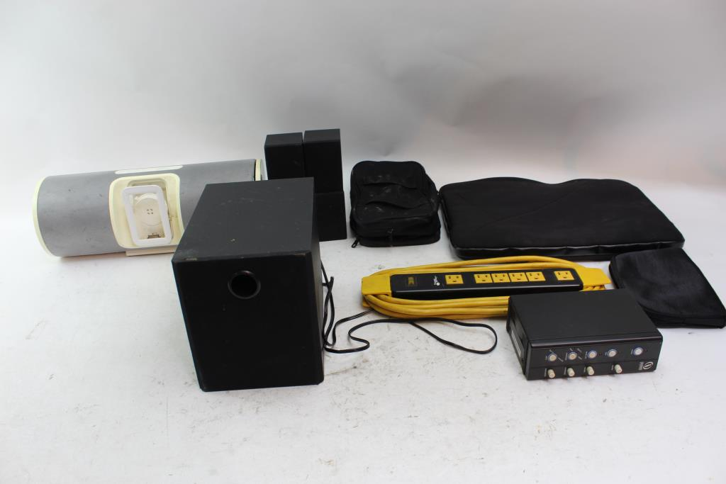 Interact Sound System Sentry Strip And More 8 Pieces