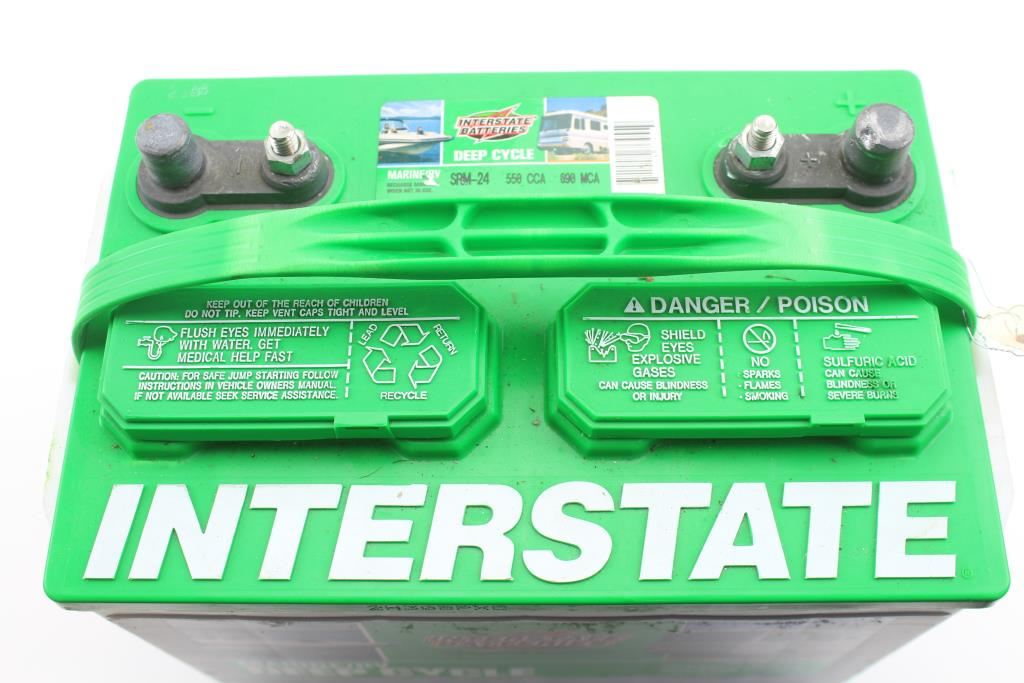 Interstate Deep Cycle Marine Battery >> Interstate Batteries Marine Rv Deep Cycle Battery Property Room