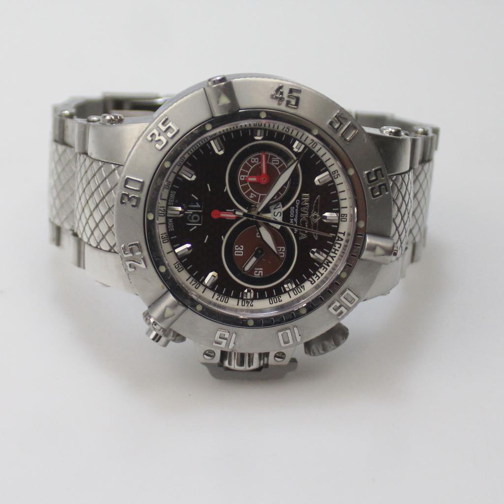 5e3f55dc6 Image 1 of 3. Invicta Subaqua Noma III Chronograph Men's Watch. Listing ID:  11774977; Item #: 0338-020186